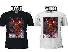 Sexy Girl American Flag Tumblr T-shirt Vest Tank Top Men Women Unisex 1312