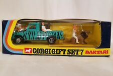 Corgi Gift Set 7 Daktari Land Rover 109 with figures Boxed  NEW MINT IN BOX !!