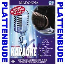 Karaoke * madonna * DVD + CD ua. la isla bonita * like a virgin * Frozen nuevo/en el embalaje original