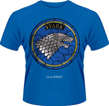Game Of Thrones - House Stark T-Shirt Homme / Man - Taille / Size L PLASTIC HEAD