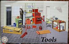 Fujimi 115054 Garage & Tools die komplette Werkstatteinrichtung 1:24