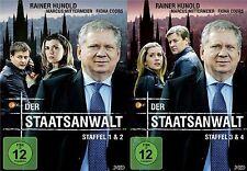 Der Staatsanwalt - 1,2,3,4 Staffel - Rainer Hunold - 6 DVD´s - 2 Boxen