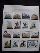 Ascension Islands: 1976 Birds Set of 16 UMM