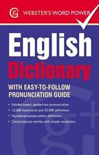 Webster's Word Power English Dictionary: With Easy-to-Follow Pronunciation Gui,
