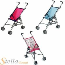 Dolls World Stroller Girls Foldable Toy Baby Pushchair Pram Buggy