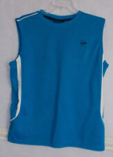 Mens Dunlop Blue sleeveless Sports Top Size L