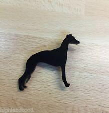 Whippet Dog Brooch