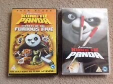 Kung Fu Panda & Kung Fu Panda Secrets Of The Furious Five - 2 DVDs - New
