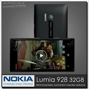 Original Nokia Lumia 928 Unlocked Windows Phone 4.5'' Dual Core 32GB 8.7MP 4G
