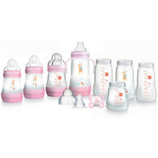 MAM GP0014G Easy Start Anti-Colic Bottle Starter Set (15 Piece) - Pink