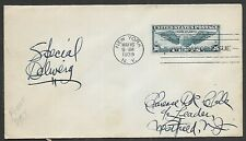 USA 1939 30c Trans - Atlantic Special Delivery Cover