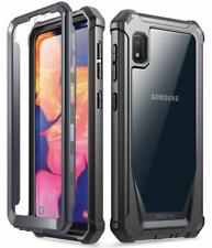 Samsung Galaxy A10E Case Poetic Hybrid Shockproof Clear Back TPU Bumper Cover