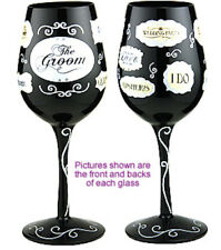 Groom Words Lady Party Wine Glass