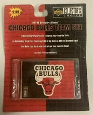 1997-98 Upper Deck Collector's Choice Chicago Bulls 4x Team Set Jordan
