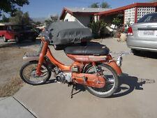 "1972 Yamaha 70cc Step-Thru U7 / U7E ""FRONT FENDER ONLY"" Also ""Parts for Sale"""