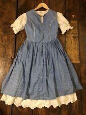 Vintage Cottagecore Prairie  Sprig Print   Dirndl Folk Oktoberfest Dress 8 10