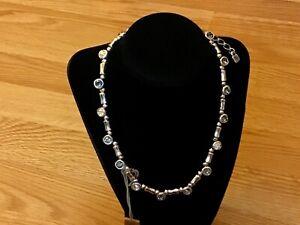"""NWT Uno de 50 Silver-plated Necklace w/ Swarovski Crystals """"Super Ego"""""""