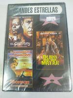 Jackie Chan + Charles Bronson + Berenger DVD Region All Spanish English New 2T