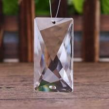 1pcs Multi-faceted Crystal Glass Chandelier Lighting Prisms Drop Hanging Pendant