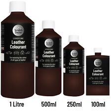 DARK BROWN Leather Colourant for repairs & restorations. / Pigment Stain Dye