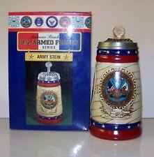 2003 ANHEUSER-BUSCH  / BUDWEISER MILITARY SERIES ARMY STEIN CS - 567 MINT IN BOX
