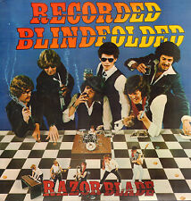 RAZOR BLADE ‎– Recorded Blindfolded (RARE 1981 NEDERPOP/NEW WAVE VINYL LP)