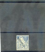 REUNION Sc 22(YT 22)F-VF USED 1891 15c BLUE $16