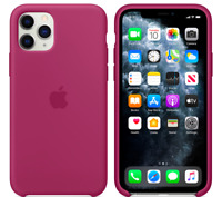 iPhone 11 Pro 5,8″ Apple Echt Original Silikon Hülle Case - Granatapfel