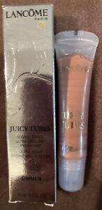 LANCÔME Juicy Tubes Ultra Shiny Hydrating Lip Gloss #44 SIMMER NEW IN BOX!
