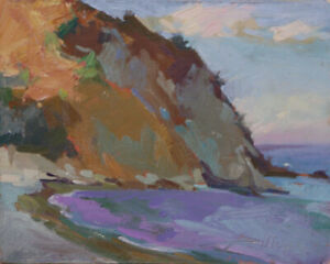 """""""Descanso, Catalina""""  8x10  Oil     FREE Shipping USA"""