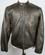 MARC NEW YORK ANDREW MARC MANS LEATHER MOTORCYCLE JACKET Size XL