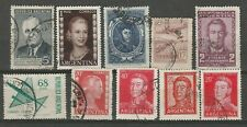 Argentine 10 timbres différents