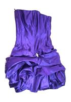 Jessica McClintock Gunne Sax Vintage 90s 5 Purple Strapless Dress Prom Formal