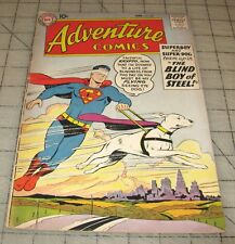 ADVENTURE COMICS #259 (Apr 1959) Good+ Condition Comic - Blind Boy of Steel