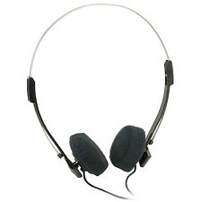 Mini Stereo Lightweight Headphones with 4 ft. Cord