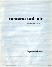 Ingersoll-Rand Compressed Air Fundamentals Manual
