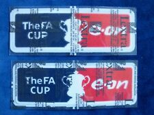 Lextra Original 2006-2011 Seasons E.ON EON FA Cup Player Issue Arm Patch Set