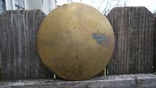 antique large veinna regulator / german tall clock pendulum bob