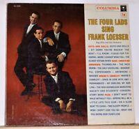 The Four Lads Sing Frank Loesser - 1957 LP Record Album - Vinyl Near Mint