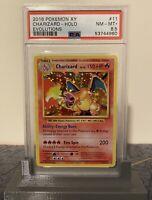 2016 Pokemon XY Evolutions Charizard Holo Rare NM/MT+ PSA 8.5 #11/108 Near Mint+