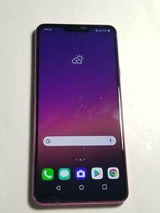 LG G7 ThinQ - G710UTM - 64GB - Pink- T-Mobile Unlocked-FullyFunctional # 100NV