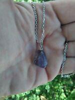 Amethyst Pendant Natural Healing Chakra Crystal