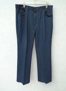 Vintage 1970s 80s Orange Tab LEVIS Bell Bottom Soft Blue Pants Size 40x32 RARE!