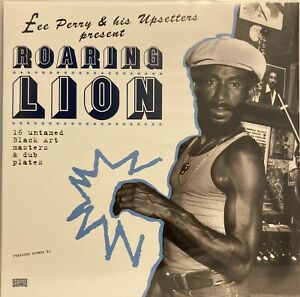 Lee Perry Roaring Lion 2 LP Pressure Sounds 16 Untamed Black Art Masters & Dub