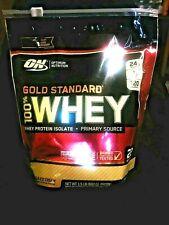 OPTIMUM NUTRITION..GOLD STANDARD..100% WHEY PROTEIN..POWDER DRINK MIX..1.5lb