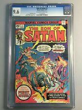 Son of Satan 1 - CGC 9.6 - NM+   Marvel - Jim Starlin & Gil Kane