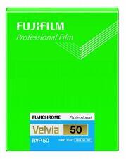 FUJI FUJIFILM VELVIA 50 4x5 20 Sheet Film ISO50 CUTVELVIA50NP4X520 4547410246254