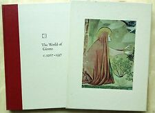 Book  WORLD OF JIOTTO  Library of Art Series HARDCOVER, DUST JACKET, ILLUSTRATED