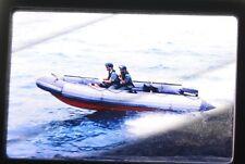 Royal Hong Kong Police RHKP Maritime Marine Force Ship Boat 35mm Slide Photo D