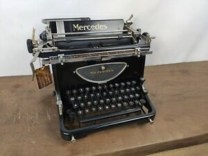 TYPEWRITER MERCEDES 6 EXPRESS S - WORKING CONDITION  - NO RISK WITH SHIPPING